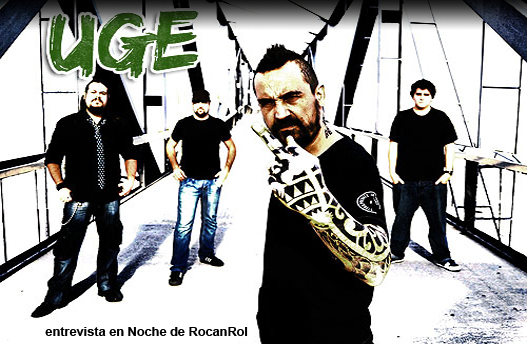 entrevista a UGE en Noche de RocanRol