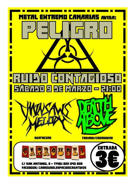 Guia de Conciertos Heavy Rock en Canarias 2013