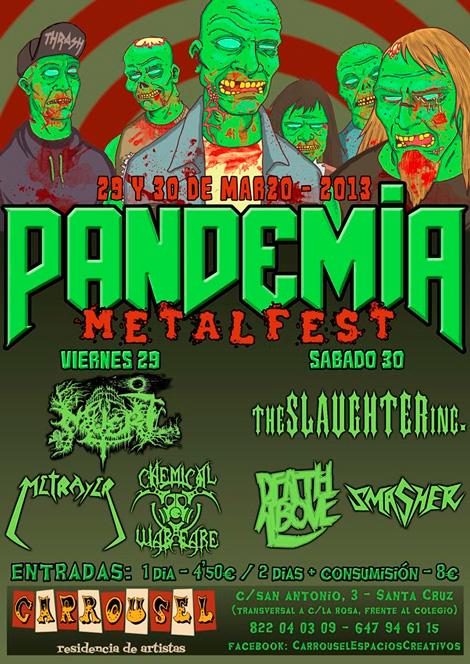 Guia de Festivales Heavy Metal en Canarias 2013