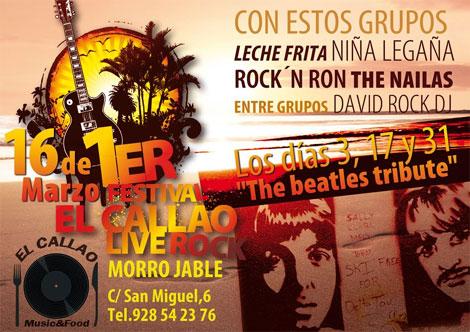 El Callao Live Rock 2013