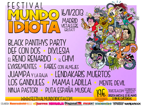 Guia de Festivales Punk Rock España 2013
