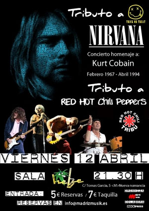 Tributo Nirvana en Madrid 130413