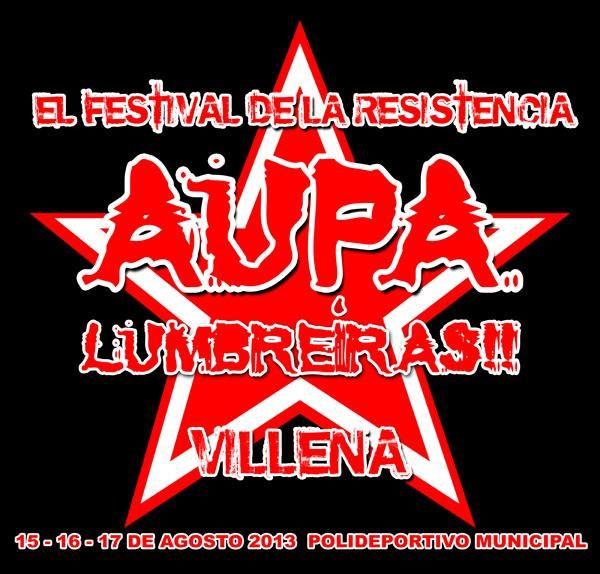 Logo aupa lumbreiras 2013