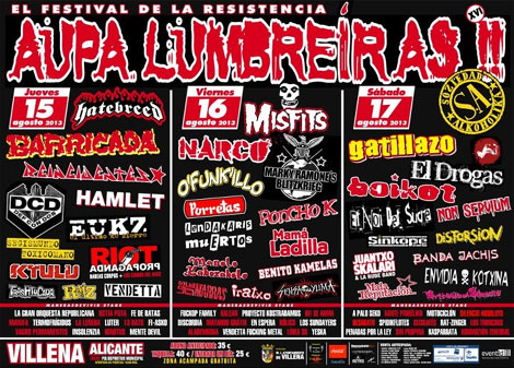 Aupa Lumbreiras 2013 Cartel Final