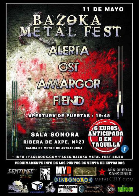 Cartel bazoka-metal-fest-2013