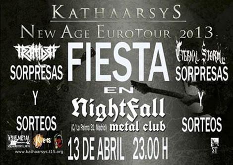 Katharsys fiesta Madrid