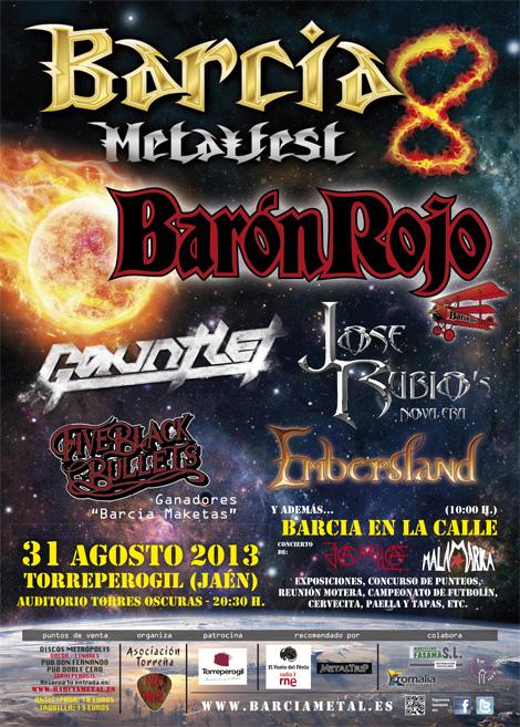 Barcia-MetalFest-2013