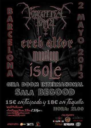 Gira Doom Barcelona 020513