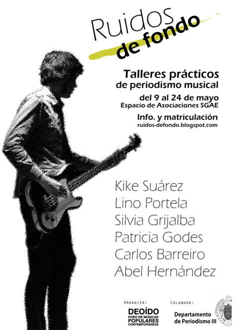 Deoído presenta sus talleres prácticos de periodismo musical
