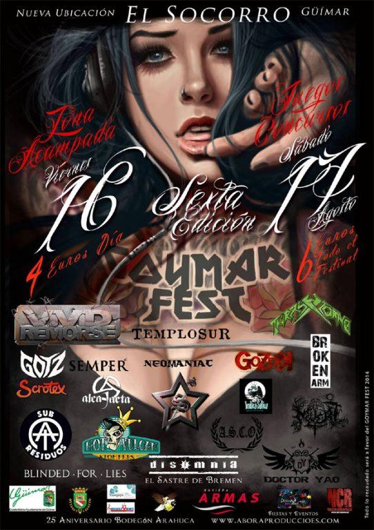 Agenda Conciertos y Festivales Metal Canario 2013