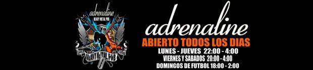 Fechas concierto Adrenaline Pub Gran Canaria