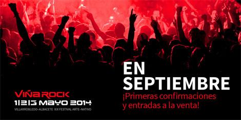 Fechas confirmadas para el Viña Rock 2014