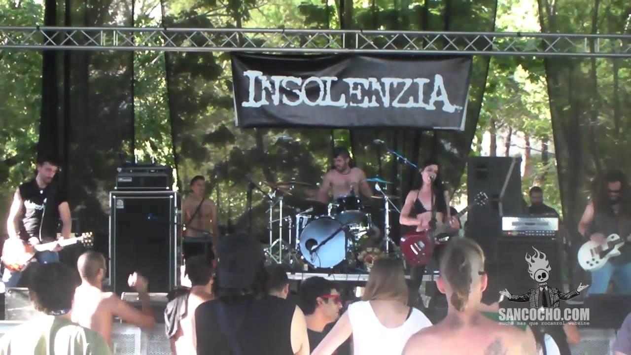 Insolenzia en concierto