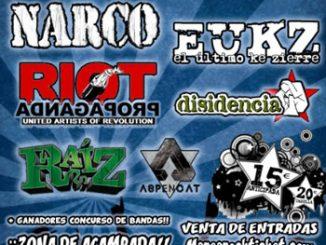 Cartel MareaRock Festival 2013