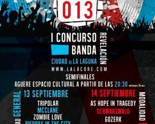 Festival LalaCore 2013 La Laguna, Tenerife
