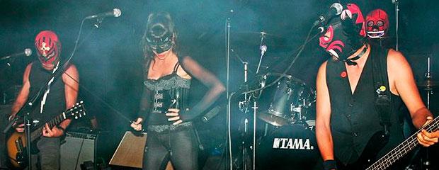 The Castro Zombie en concierto