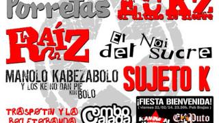 Festival Gazpatxo Rock 2013 cartel definitivo
