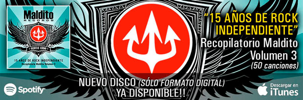 Recopilatorio Maldito Records 15 Años