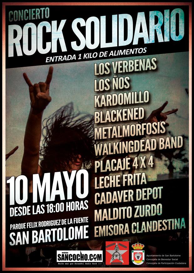 Concierto de Rock en Lanzarote Canarias