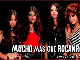 Entrevista a Lizzies en Mucho mas que RocanRol Radio