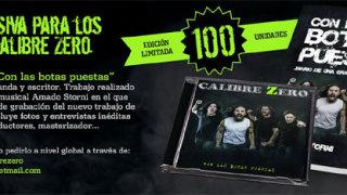 """""""Con las botas puestas"""", disco-libro de Calibre Zero"""