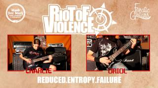 Riot Of Violence lo dejan [Comunicado]