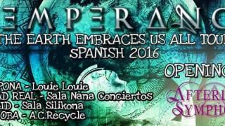 Afterlife Symphony banda support de Temperance por España