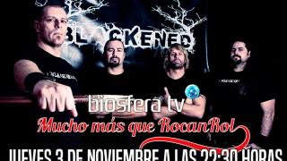 Blackened en Mucho mas que RocanRol TV