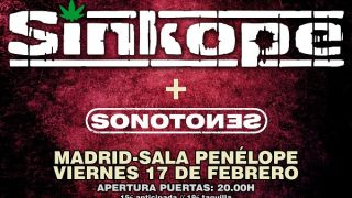 Sinkope dará un concierto especial por su 25 aniversario