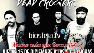 Dead Crooner en Mucho mas que RocanRol TV