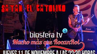 Satan El Catoliko en Mucho mas que RocanRol TV
