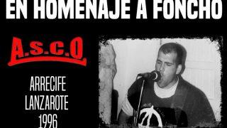 En homenaje a Foncho