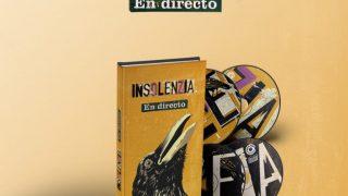 """Insolenzia, nuevo trabajo  """"En Directo"""""""