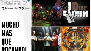 John Doe / Vil Metal en Mucho mas que RocanRol TV