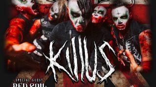 "Killus anuncian el ""Ultrazombie UK Tour"" en Mayo"