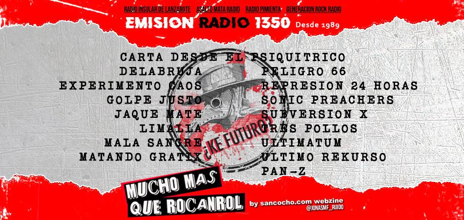 Mucho mas que RocanRol emisión 1350