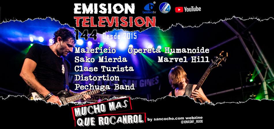 Mucho mas que RocanRol TV 144