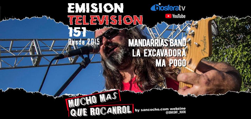 Mucho mas que RocanRol TV 151