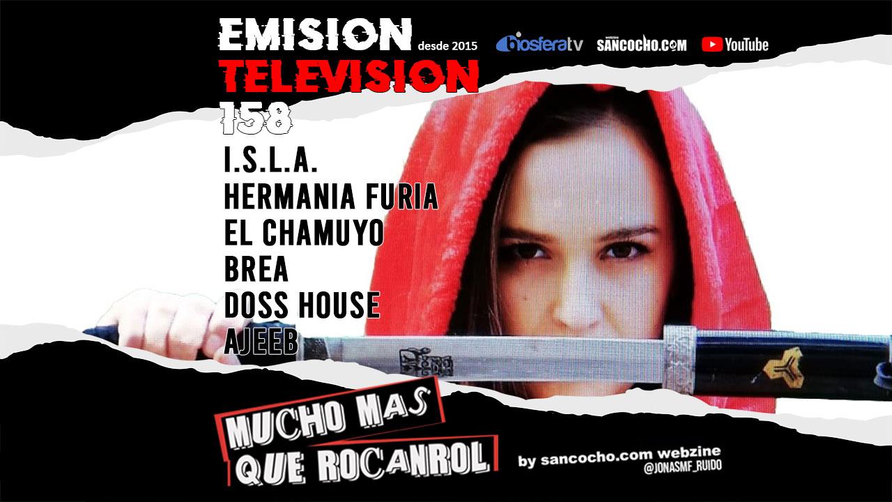 Mucho mas que RocanRol TV 158