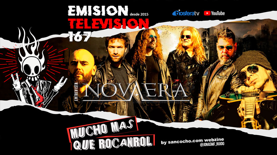 Mucho mas que RocanRol TV 167 con Nova Era