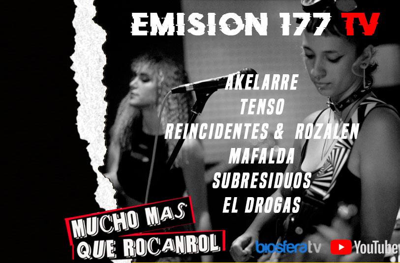 Mucho mas que RocanRol TV 177
